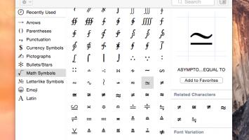 toetsenbord tekens