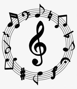 muzieknoten typen toetsenbord